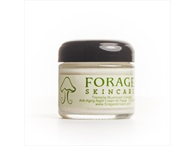 Forage Skincare Anti Aging Night Cream for faces (2 oz jar)