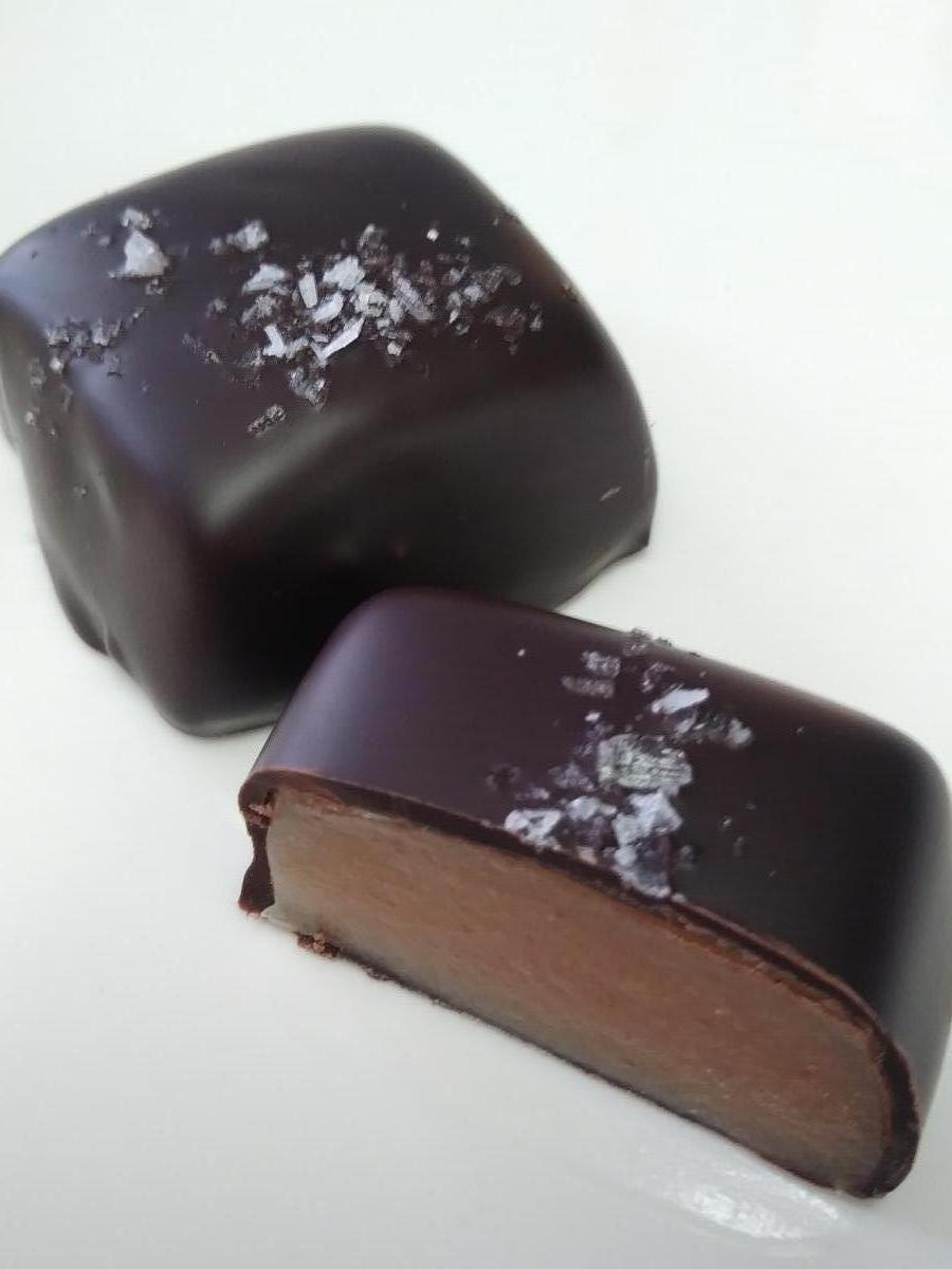 Chocolate Dipped Caramels - 6 pack