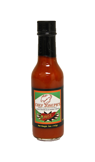 Chef Joseph's 5oz Hot Kick Sauce