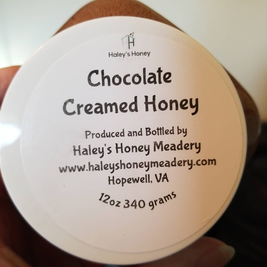 1/2 lb Chocolate Creamed Honey