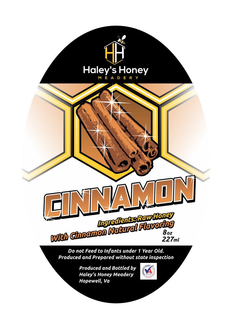 1/2 lb Cinnamon Honey