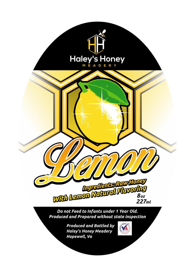 1/2 lb Lemon Honey