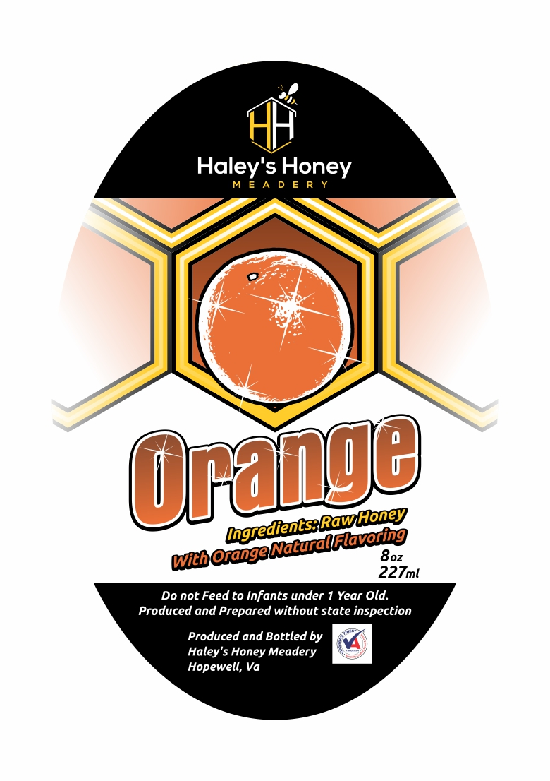 1/2 lb Orange Honey