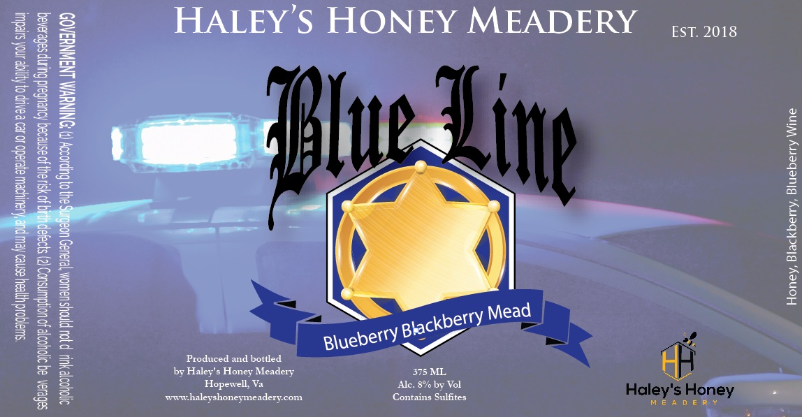2019 Blue Line - Blueberry Mead