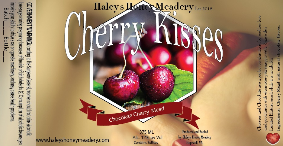 2019 Cherry Kisses - Chocolate Cherry Mead