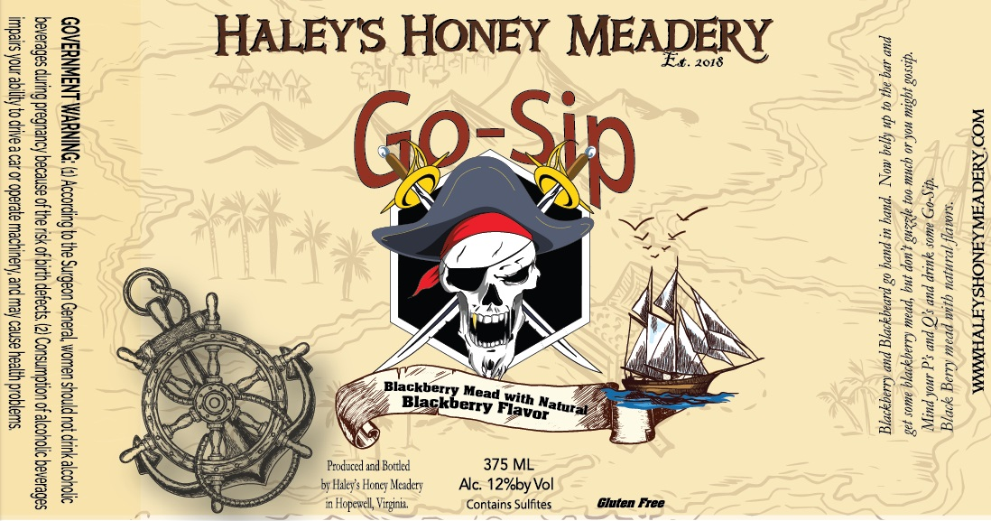 2018 - Go Sip - Blackberry Mead