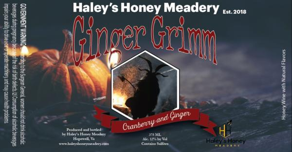 Cranberry and Ginger Mead 12%