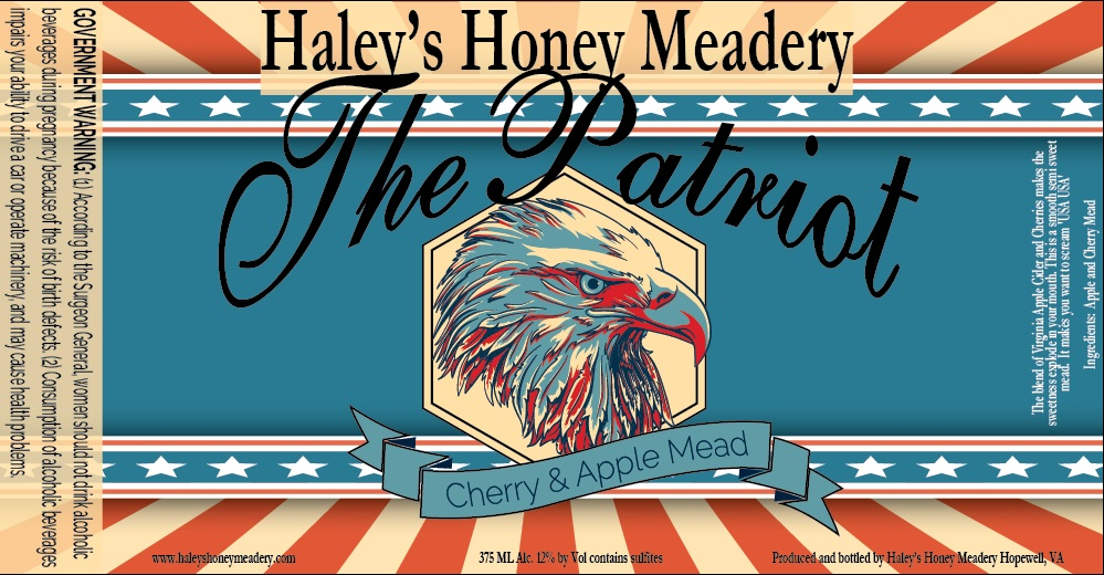 2019 The Patriot - Cherry and Apple Mead