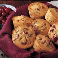 Cranberry Nut Muffin (Individual)