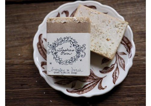 Goats Milk Soap - Barley & Birch