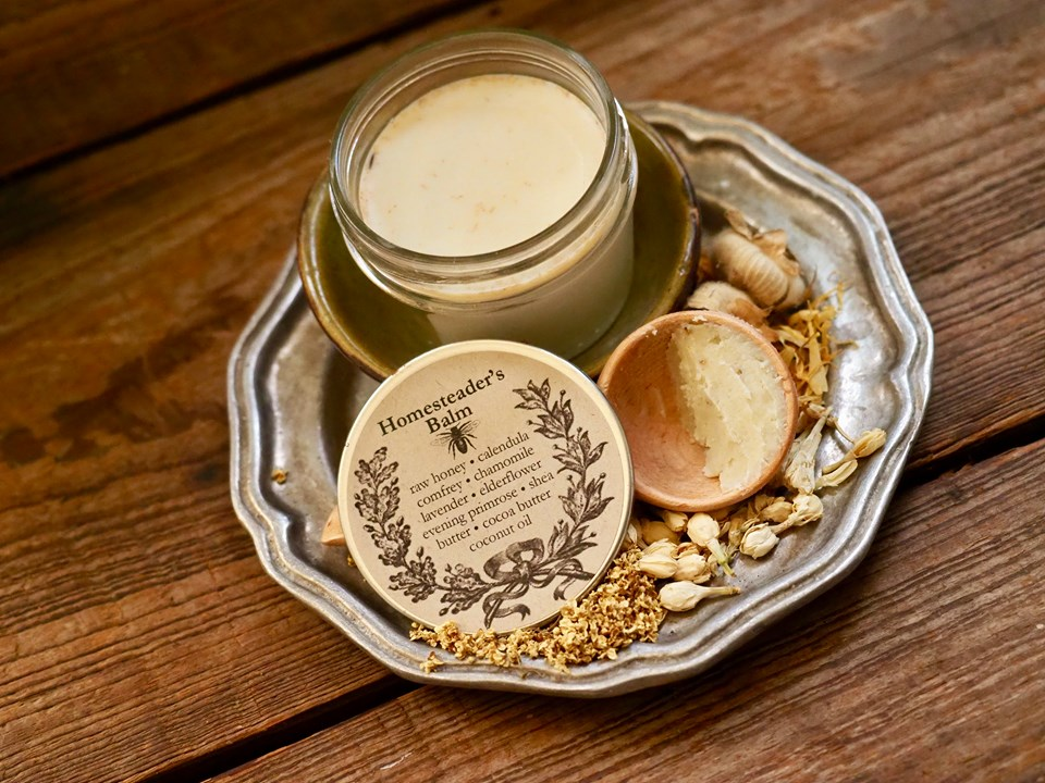 Homesteader's Herbal Moisturizing Balm
