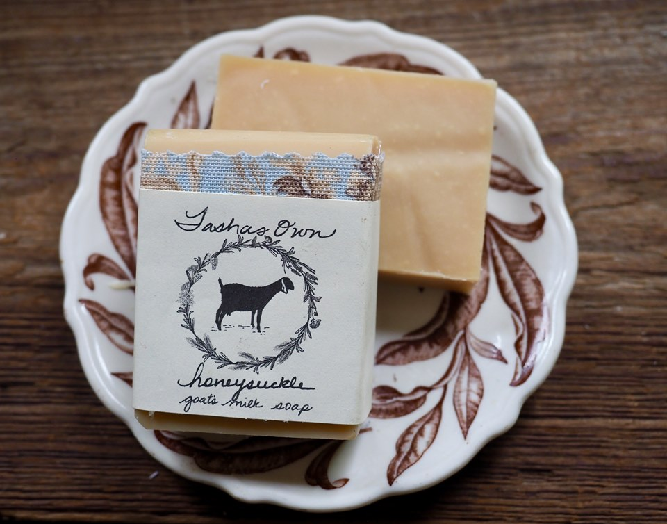 Goats Milk Soap - Honeysuckle