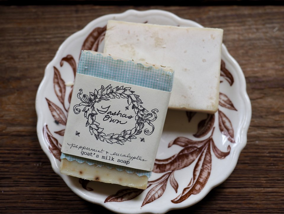 Goats Milk Soap - Peppermint Eucalyptus
