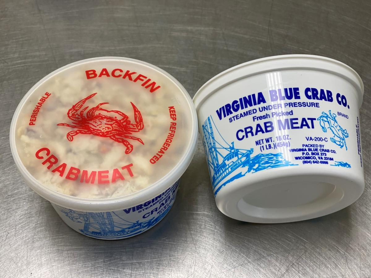 1lb Backfin frozen crab meat